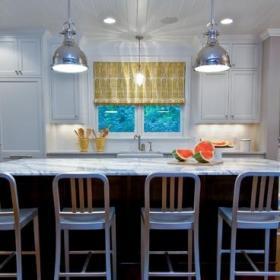现代简约风格客厅一层别墅大方简洁客厅客厅与餐厅隔断装修效果图