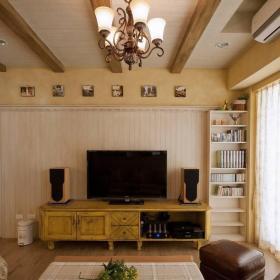 客厅电视墙_1531090效果图欣赏