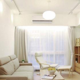 70平米日式风格二居室日式客厅设计效果图