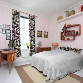 宜家風格客廳單身公寓設計圖舒適12平米臥室設計圖