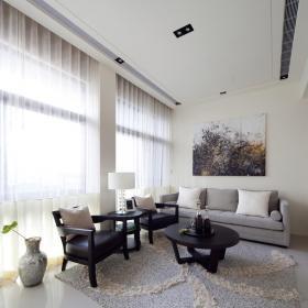 休闲沙发椅无框画壁纸沙发家具茶几简约地毯小客厅背景墙装?#20301;?#35013;修图片装修效果图