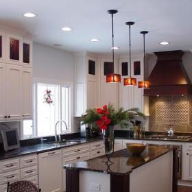 美式鄉村風格客廳單身公寓設計圖黑色10-15萬70平米小戶型設計圖紙效果圖