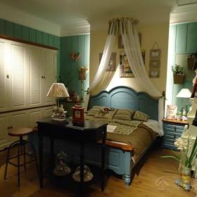 臥室臥室背景墻地中海客廳裝修效果圖