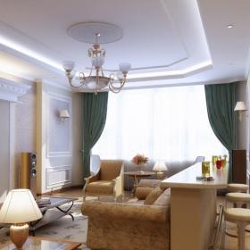 最新客厅吊灯水晶灯图片效果图