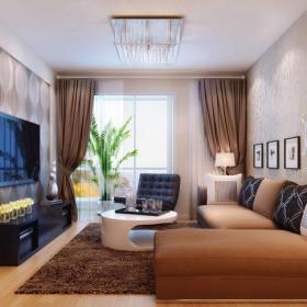 时尚大气的客厅装修效果图