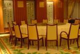 餐厅包间羊毛地毯图片效果图