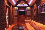 主题酒吧沙发现代工装主题酒吧时尚动感的酒吧设计效果图