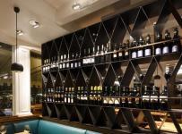 主题酒吧现代酒柜工装时尚动感的酒吧设计装修效果图