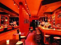 酒柜吧台现代工装主题酒吧时尚动感的酒吧设计效果图大全