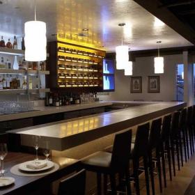 美式酒吧吧臺設計圖效果圖