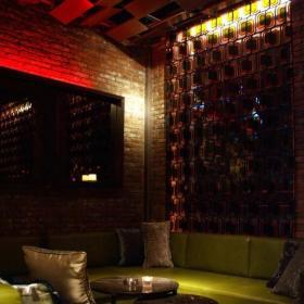 工装优雅小酒吧设计上海布朗石酒吧效果图