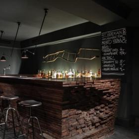 酒吧小吧台设计图欣赏效果图