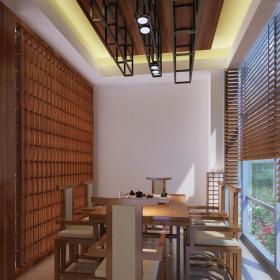 中式茶楼包间设计效果图