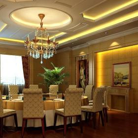 歐式星級酒店餐廳包間設計圖片大全效果圖大全