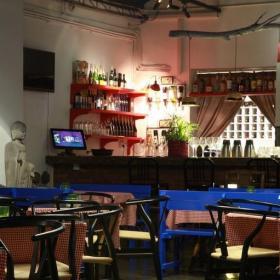田园风格小酒吧室内图片效果图