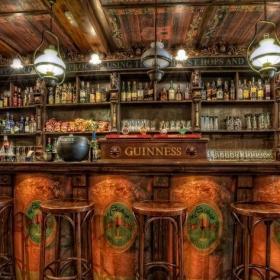 古典酒吧设计装饰室内效果图