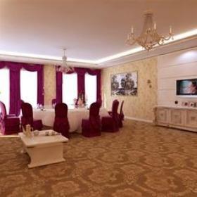 歐式風格酒店餐廳包間裝修效果圖-歐式風格儲物柜圖片