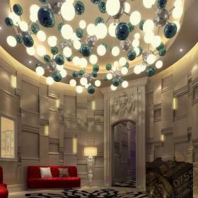 龙华HENNESSY酒吧——黄治奇0755酒吧设计作品效果图