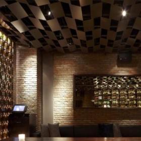 工装优雅小酒吧设计上海布朗石酒吧装修效果图