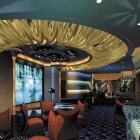 酒吧室内吊顶设计图片效果图