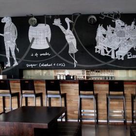 酒吧壁画图片效果图