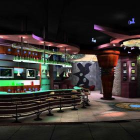 小型酒吧装修酒吧椅图片效果图