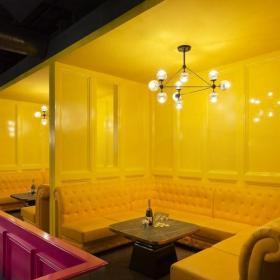 酒吧室内包厢装饰效果图