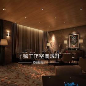新古典酒吧设计效果图
