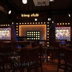 酒吧电视墙效果图