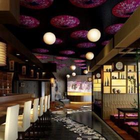 酒吧吊顶吊灯装饰设计图片效果图
