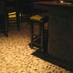 工装优雅小酒吧设计上海布朗石酒吧效果图欣赏