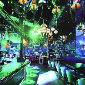 吧台椅主题酒吧吧台工装主题酒吧现代简约风格酒吧吧台装修效果图