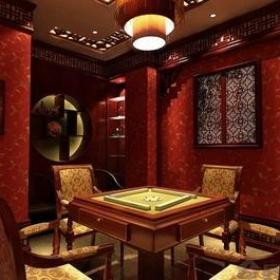 中式风格茶楼包间装修效果图
