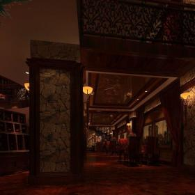 鄭州美蘭紅酒吧酒吧設計裝修效果圖