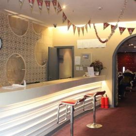小型酒吧收银台设计效果图