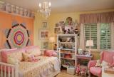 儿童灯卧室奢华儿童房灯光效果图