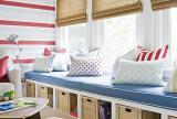 三居大户型单身公寓儿童房给孩子一个有情调的玩耍飘窗装修效果图