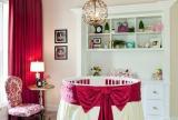 儿童房红色给宝贝一张有爱的小床效果图大全