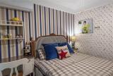 公寓田園風格90平米溫馨90平田園風裝修兒童房效果圖