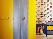 簡約風格四房富裕型140平米以上兒童房衣柜定制效果圖