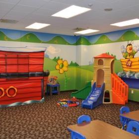 可爱儿童房间室内休闲布置图片效果图