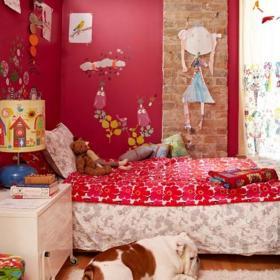 臥室臥室可愛的兒童房效果圖大全