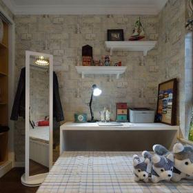 地中海風格二居室兒童房壁紙裝修效果圖欣賞