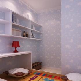 儿童房博古架装修效果图图集欣赏