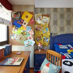 混搭風格三居室兒童房照片墻裝修效果圖