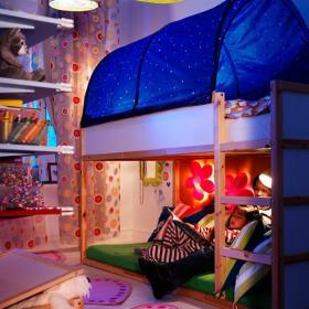 儿童房色彩斑斓的儿童房装饰效果图