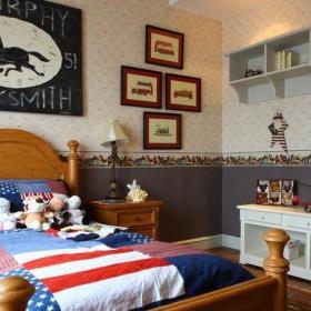 美式家居裝修兒童房圖片大全效果圖