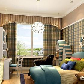 混搭風格二居室兒童房床裝修效果圖大全