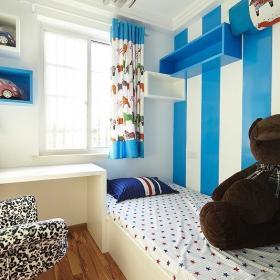 簡約風格二居室時尚富裕型兒童房地臺裝修效果圖
