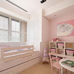 二居室欧式儿童房窗户装修设计装修效果图